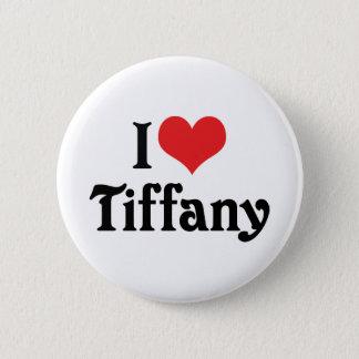 Bóton Redondo 5.08cm Eu amo Tiffany