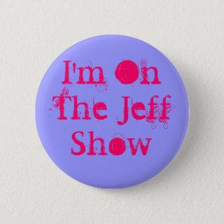 Bóton Redondo 5.08cm Eu estou na mostra de Jeff