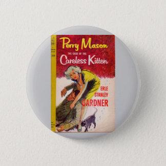 Bóton Redondo 5.08cm Exemplo do pedreiro de Perry da capa do livro
