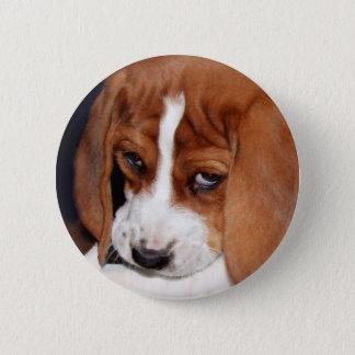 Bóton Redondo 5.08cm Filhote de cachorro enrugado