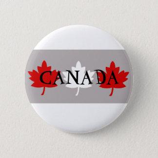 Bóton Redondo 5.08cm Folhas de bordo canadenses