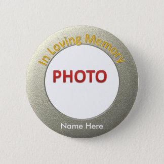 Bóton Redondo 5.08cm Foto memorável personalizada