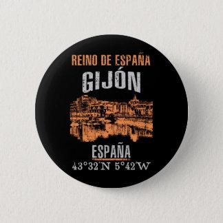 Bóton Redondo 5.08cm Gijón