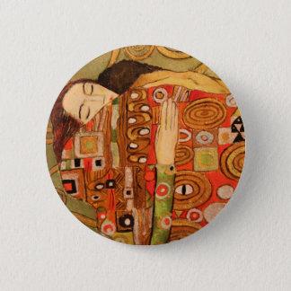 Bóton Redondo 5.08cm Gustavo Klimt
