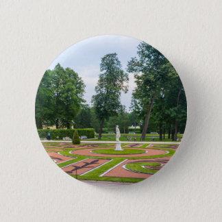 Bóton Redondo 5.08cm Jardins de Tsarskoye Selo do palácio de Catherine