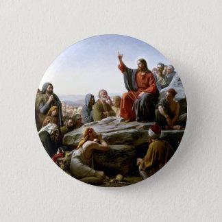Bóton Redondo 5.08cm Jesus 's Sermão-em--Montagem-por-Bloch