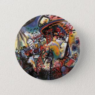 Bóton Redondo 5.08cm Kandinsky Moscovo mim pintura abstrata da