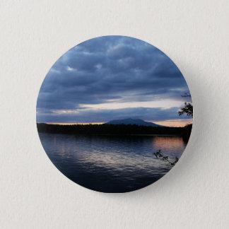 Bóton Redondo 5.08cm Lago Maine Katahdin Millinocket da montagem no