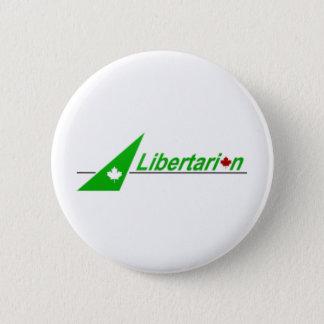 Bóton Redondo 5.08cm Libertarian_Party_of_Canada_Logo