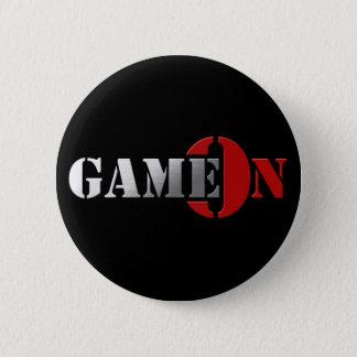Bóton Redondo 5.08cm Logotipo de GameOn Netowrk