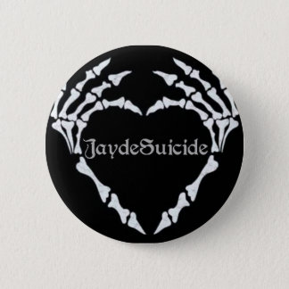 Bóton Redondo 5.08cm Logotipo do suicídio de Jayde