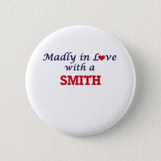 Bóton Redondo 5.08cm Louca no amor com um Smith