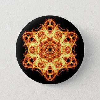 Bóton Redondo 5.08cm Mandala da iluminação