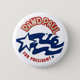 Bóton Redondo 5.08cm Margem Paul para o presidente 2016