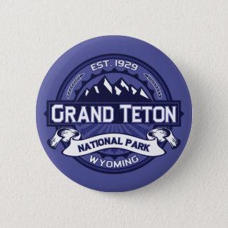 Bóton Redondo 5.08cm Meia-noite grande de Teton