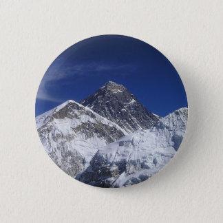 Bóton Redondo 5.08cm montanhas abstratas de Monte Everest Himalaya