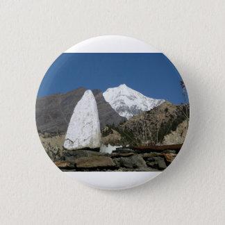 Bóton Redondo 5.08cm Montanhas em Nepal