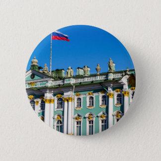 Bóton Redondo 5.08cm Museu de eremitério St Petersburg do estado Rússia