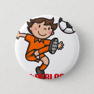 Bóton Redondo 5.08cm Netherlands - Euro 2012