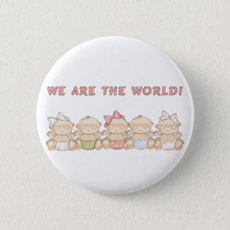 Bóton Redondo 5.08cm Nós somos o botão do Pin do divertimento dos bebês
