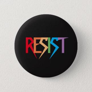 Bóton Redondo 5.08cm O arco-íris colorido resiste o botão