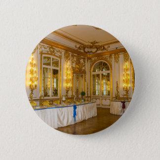 Bóton Redondo 5.08cm O grande palácio Tsarskoye Selo de Catherine