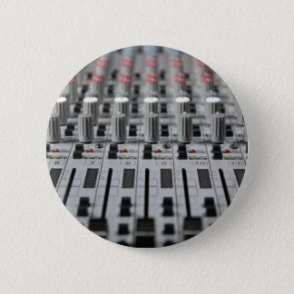Bóton Redondo 5.08cm O misturador enfileira o botão da foto