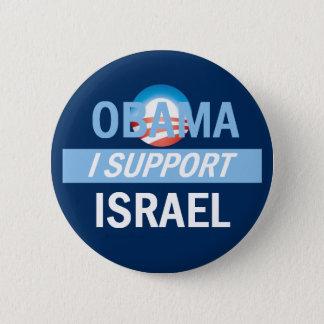 Bóton Redondo 5.08cm Obama eu apoio o botão de Israel
