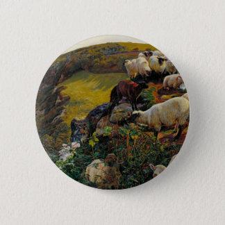 Bóton Redondo 5.08cm Os carneiros vagueados