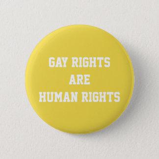 Bóton Redondo 5.08cm Os direitos dos homossexuais são direitos humanos