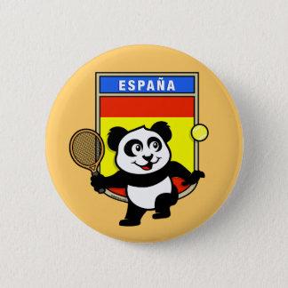 Bóton Redondo 5.08cm Panda do tênis da espanha