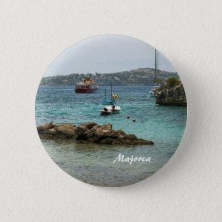 Bóton Redondo 5.08cm Pin de Majorca