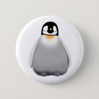 Bóton Redondo 5.08cm Pinguim do bebê