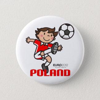 Bóton Redondo 5.08cm Polônia - euro- 2012
