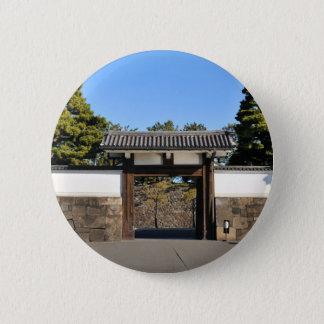 Bóton Redondo 5.08cm Porta do templo em Tokyo, Japão