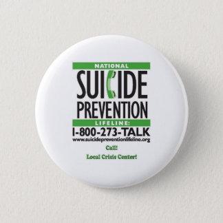 Bóton Redondo 5.08cm POSTER da prevenção do suicídio