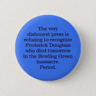Bóton Redondo 5.08cm RASGO Frederick Douglass