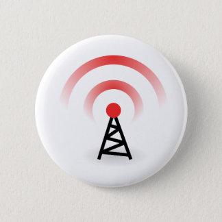 Bóton Redondo 5.08cm Rede wireless