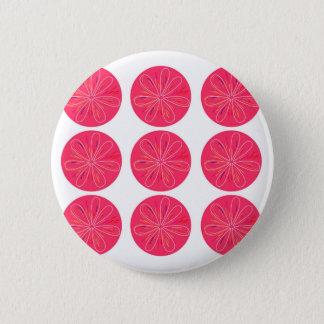 Bóton Redondo 5.08cm Rosa dos limões do design