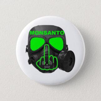 Bóton Redondo 5.08cm Sacudir da máscara de gás de Monsanto do botão