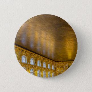 Bóton Redondo 5.08cm Sala de bola de Tsarskoye Selo do palácio de