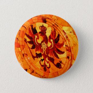 Bóton Redondo 5.08cm Sala do âmbar de Tsarskoye Selo do palácio de