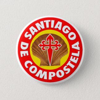 Bóton Redondo 5.08cm Santiago de Compostela