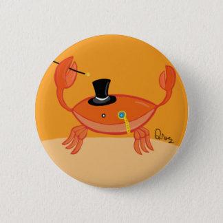 Bóton Redondo 5.08cm Senhor Crustáceo