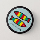 Bóton Redondo 5.08cm Símbolos de Portugal - sardinhas