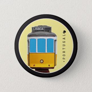 Bóton Redondo 5.08cm Símbolos do bonde de Portugal - de Lisboa