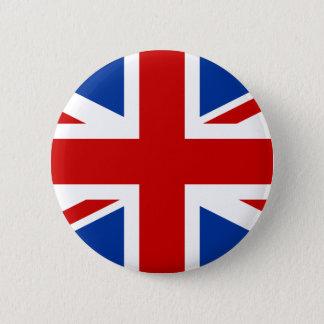 Bóton Redondo 5.08cm Union Jack