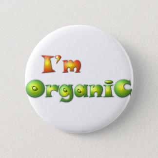 Bóton Redondo 5.08cm Volenissa - eu sou orgânico