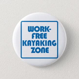 Bóton Redondo 5.08cm Zona Kayaking livre do trabalho
