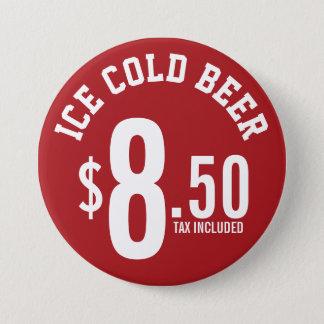 Bóton Redondo 7.62cm A concessão do vendedor fornece - gelo - o
